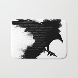 I Welcome The Valkyries Bath Mat