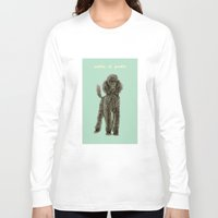 poodle Long Sleeve T-shirts featuring Poodle by Katherine Coulton
