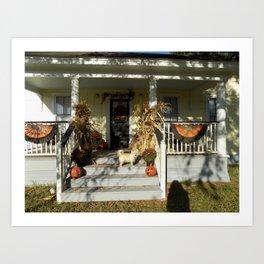 A Country Halloween Art Print