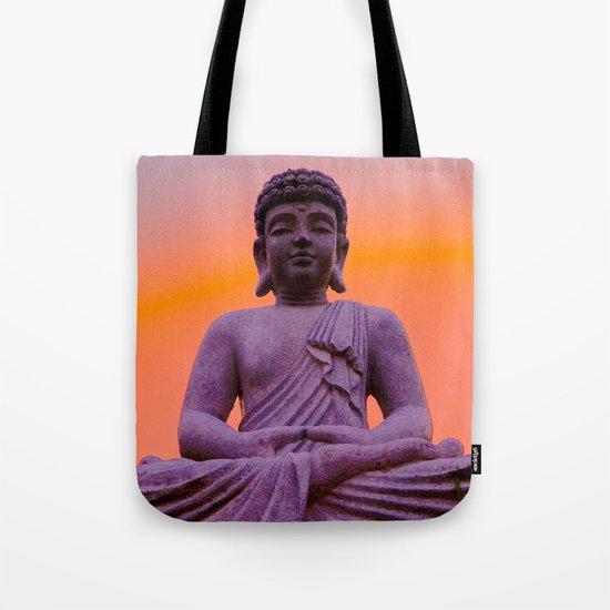 Sundown Buddha Tote Bag