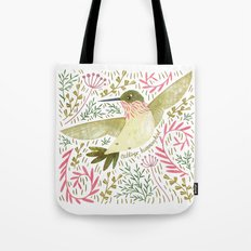 Calliope Hummingbird Tote Bag