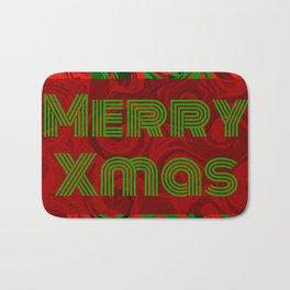 Merry Xmas 5 Bath Mat