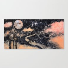 Second Star to the Right and straight on till Morning Canvas Print