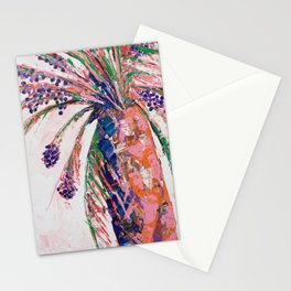 Desert Palm Tree Stationery Cards