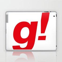 the g! Laptop & iPad Skin