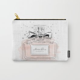 Perfume bottle with bow Carry-All Pouch
