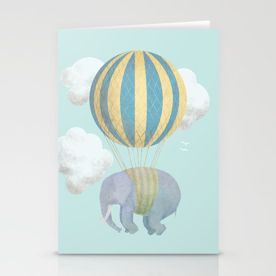 Escape From the Circus Stationery Cards