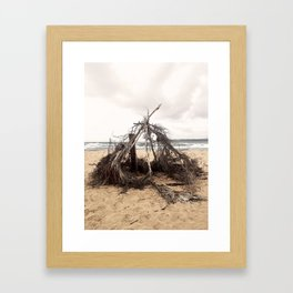 Enter Sacred Ruin Framed Art Print