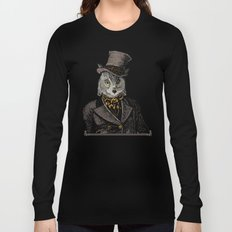 Owl Portrait   No.1 of 2 from The Owl and the Pussycat Set Long Sleeve T-shirt