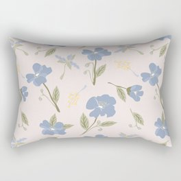 freya pink flower Rectangular Pillow