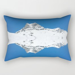 Mirrored mountain 5 Rectangular Pillow