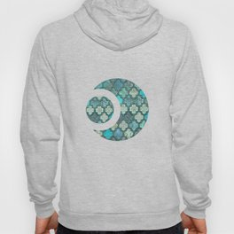 Moroccan Inspired Precious Tile Pattern Hoody