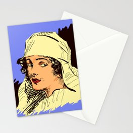 Nurse portrait WW1 Stationery Cards