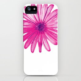 September Aster Flower Farmer Or Nature Lover Gift iPhone Case