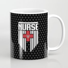 Nurse Shield Coffee Mug