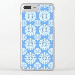 Snowflake Lace Clear iPhone Case