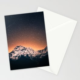 Mountain Space Stationery Cards