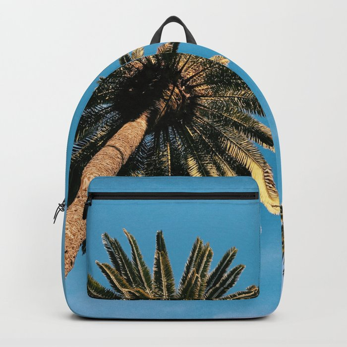 Palm Tree Portrait Backpack