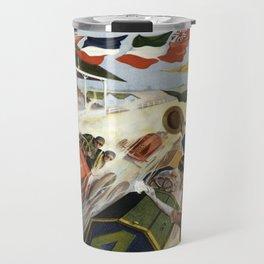 Vintage poster - Indianapolis Motor Speedway Travel Mug