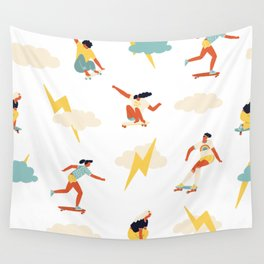 You go, girl pattern! Wall Tapestry