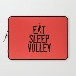 Eat Sleep Volley Laptop Sleeve