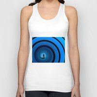 bond Tank Tops featuring Bond Man by Steve Purnell