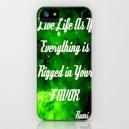 Everything Is Rigged - Rumi iPhone Case