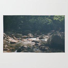 Rocky Brook from Sabbaday Falls Rug
