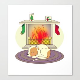 Cosy Christmas Canvas Print