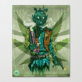 Weedo Canvas Print
