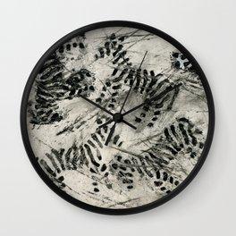 Striped Payamas Wall Clock
