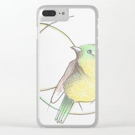 Vida de pájaro Clear iPhone Case
