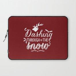 Dashing- Red Laptop Sleeve