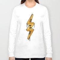 escher Long Sleeve T-shirts featuring escher bolt by Vin Zzep