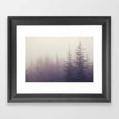 Abetos. Retro Framed Art Print