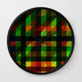 Mage Sync Reflection Crypp Wall Clock