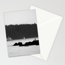 Ferry at the San Juan Islands Stationery Cards