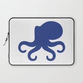 Big Octopus Silhouette Laptop Sleeve