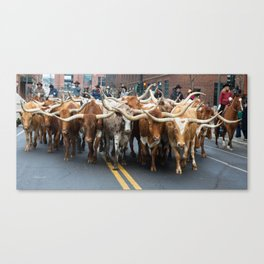 National Western Stock Show Parade Canvas Print