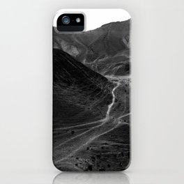 Mountains of the Judean Desert 5 iPhone Case