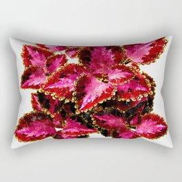 Indian Coleus #society6 #decor #buyart Rectangular Pillow