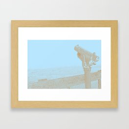 For Distant Viewing Framed Art Print