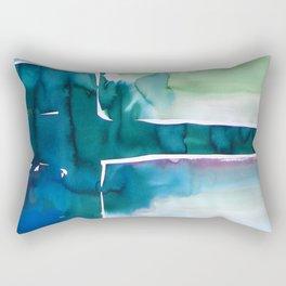 Landscape with Argonauts - Abstract 0035 Rectangular Pillow