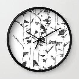 Unseen Forest Wall Clock