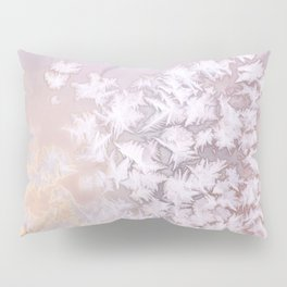 Frosted Window Pane Pillow Sham