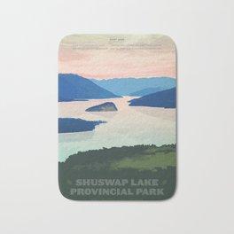 Shuswap Lake Provincial Park Bath Mat