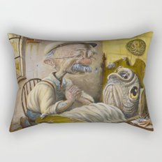 Fish out of Water Rectangular Pillow