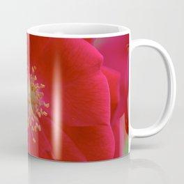 Red Bloom Coffee Mug