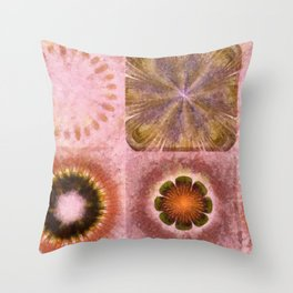 Paranosic Being Flower  ID:16165-061019-67020 Throw Pillow