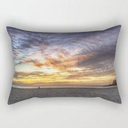 Good Harbor Beach Sunrise Rectangular Pillow